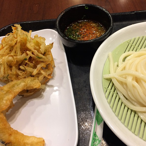 udon meal @ Marukame Udon