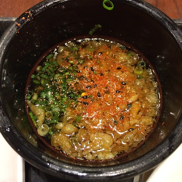 Udon Dipping Broth @ Marukame Udon