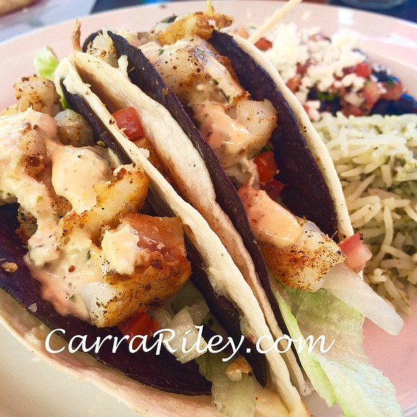 Cajun Fish Tacos - Rock Bottom Brewery Restaurant - Orchards, Westminster, CO