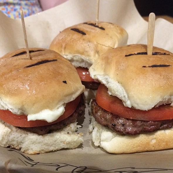 Lamb Sliders @ G Burger