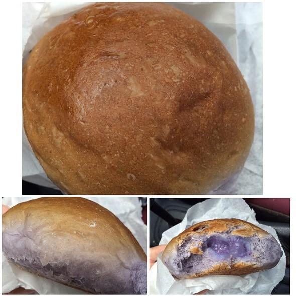 Poi Haupia Bread @ Kamehameha Bakery