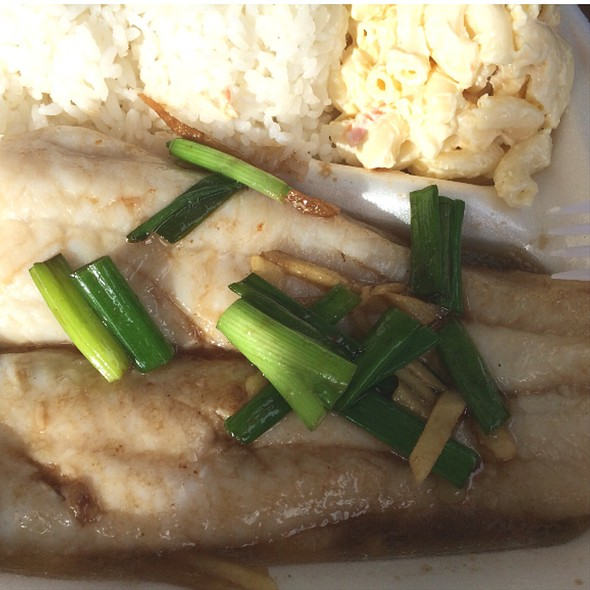 Steam Fish Fillet, Chinese-Style @ Meg's Drive-In