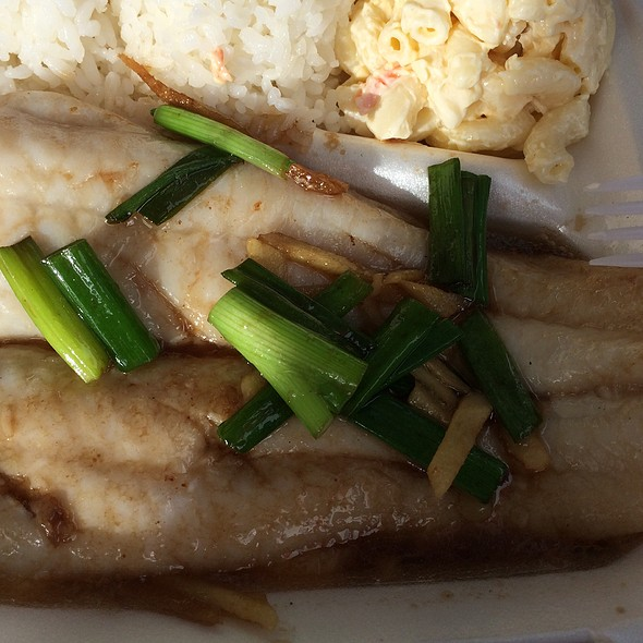 steamed fish @ Meg's Drive-In