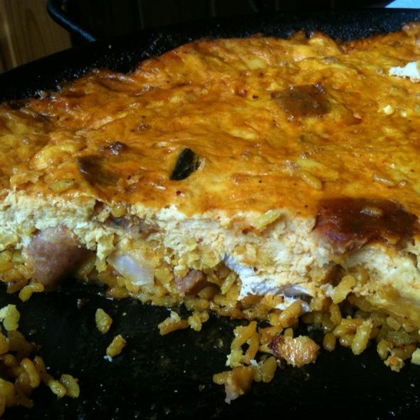 Arroz Con Costra @ Restaurante La Paella