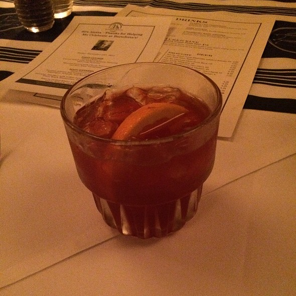 Rye Old Fashioned - Harbor House, Milwaukee, WI