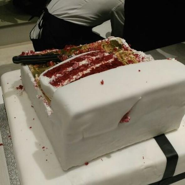 Celebration Red Velvet Cake
