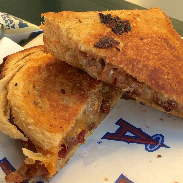 Thick Cut Bacon Grilled Cheese @ Big Cheese