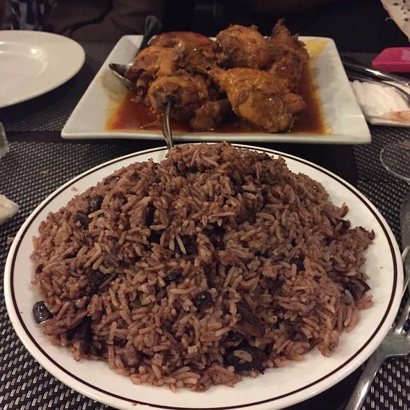Rice & Peas @ Au Paradis Tropical