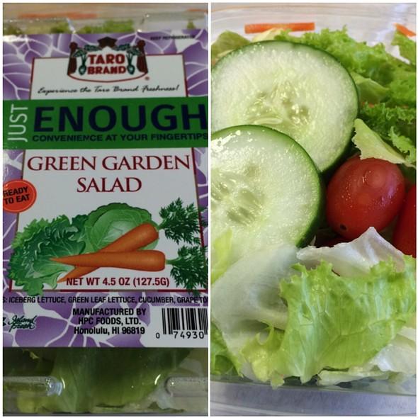 Taro Brand Just Enough Green Garden Salad @ Seven Eleven Waikiki
