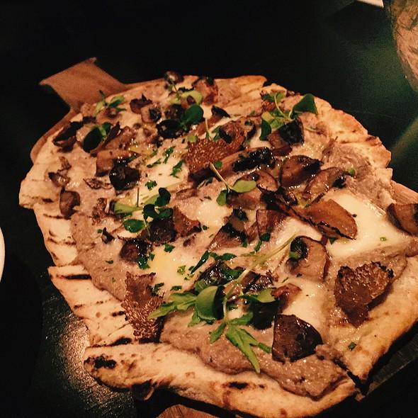 Black Truffle And Mushroom Flatbread