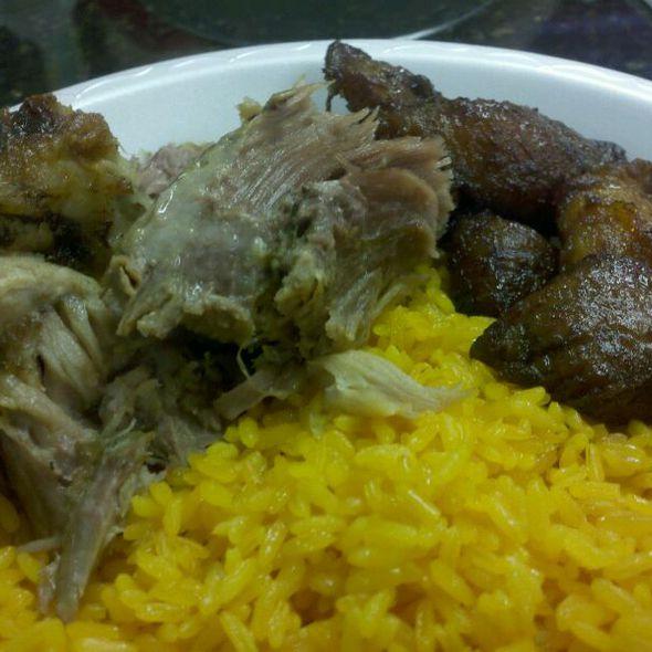 Roasted Pork @ Mi Apa Latin Cafe