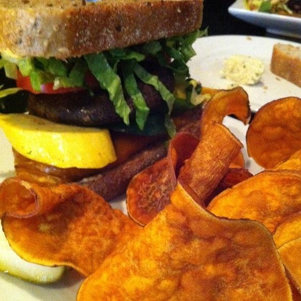Vegetable Sammie - Brown Dog Cafe, Blue Ash, OH