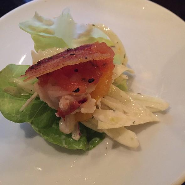 Ahi Tuna Lettuce Cups - Fleming's Steakhouse - Beverly Hills