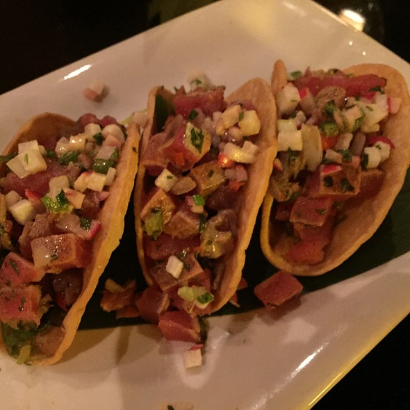 Ahi Tuna Tacos - Fleming's Steakhouse - Beverly Hills