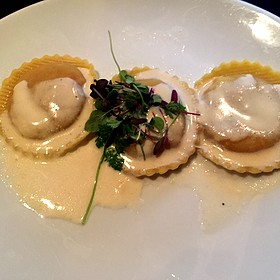 Ravioli - Fleming's Steakhouse - Beverly Hills, Beverly Hills, CA