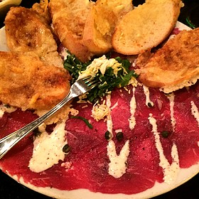 Beef Carpacio - Fleming's Steakhouse - Beverly Hills