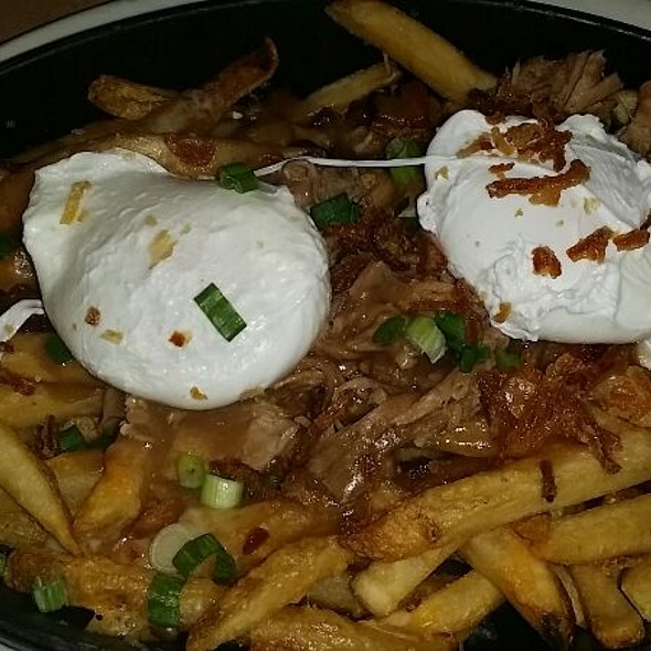 Poached Eggs And Poutine @ Sammy D's