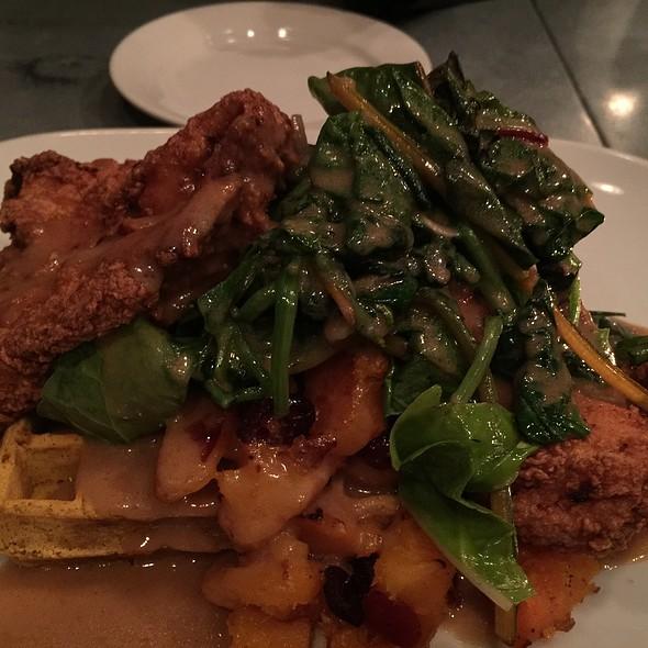 Chicken + Waffles @ Fuse Bistro