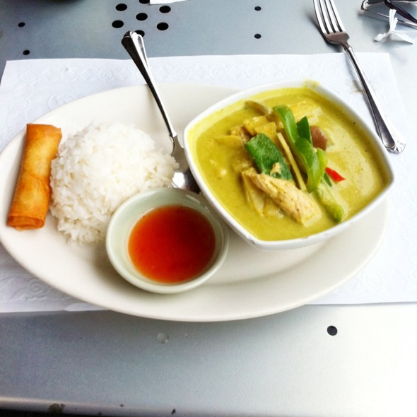 Green Curry With Pork @ Royal Thai