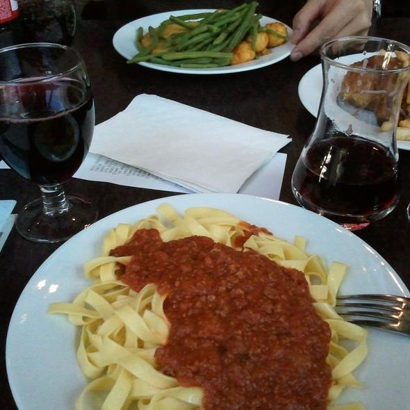 Pasta Bolognese @ Le Comptoir des Canettes