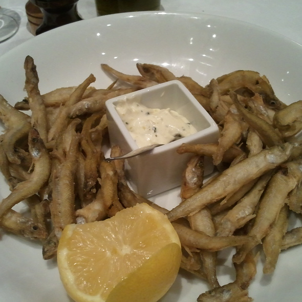 deep fried small fish @ Vin et Marée - 11eme