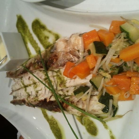 Sea bass @ Vin et Marée - 11eme