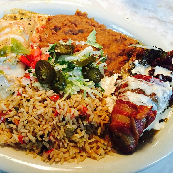 Bacon Wrapped Relkeno And Fat Daddy Enchilada @ Chuys