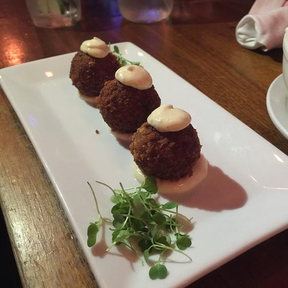 Truffle Mushroom Croquettes - Poco, New York, NY
