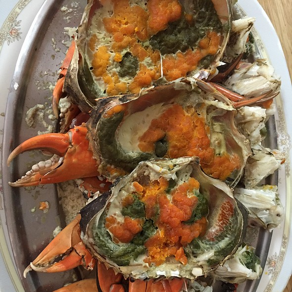 Crab Egg @ แดงอาหารทะเล (Daeng Seafood)