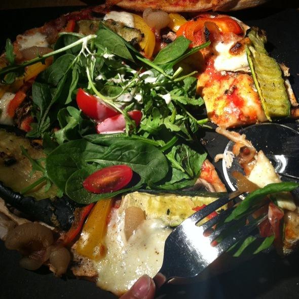 Verdure Leggra Pizza @ Pizza Express