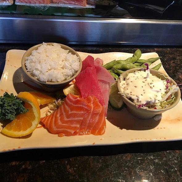 Sashimi Lunch @ Sushi Pier Tahoe