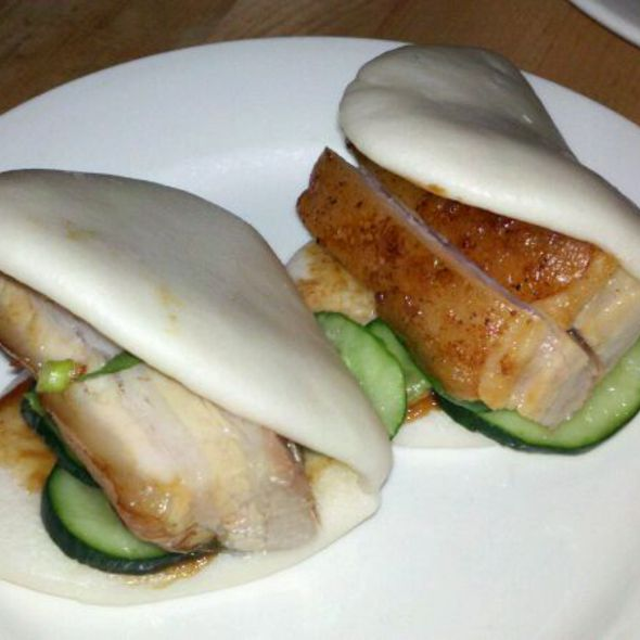 Steamed Buns with Pork Belly