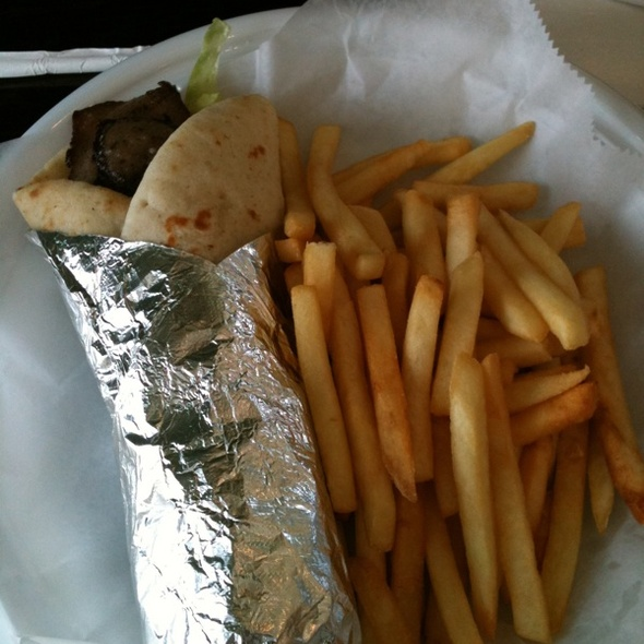 Gyro Combo @ Brunch House