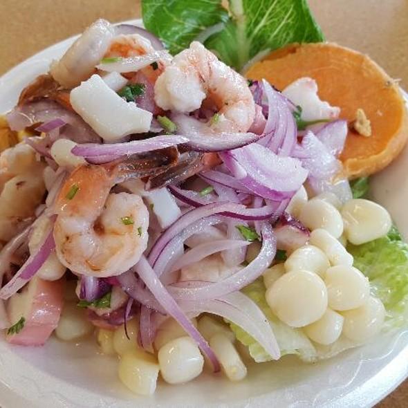 Mixed Seafood Ceviche at La Brasa Grill