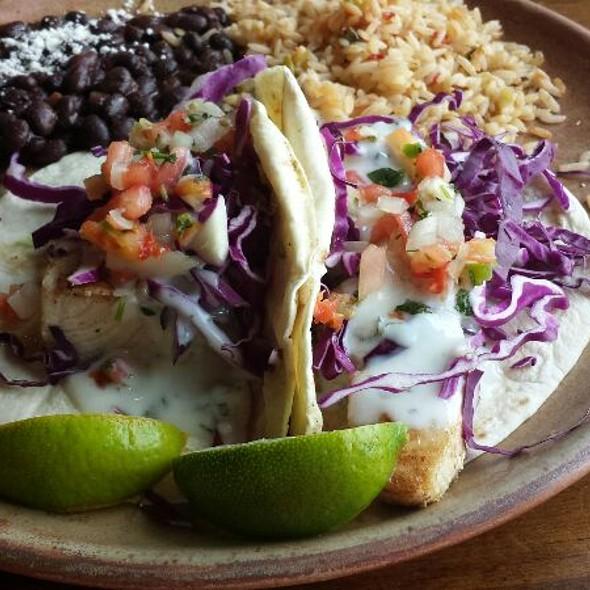 Grilled Mahi Mahi Tacos - Mi Casa Mexican Restaurant, Breckenridge, CO