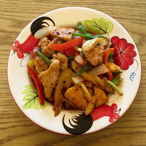 Sweet & Sour Chicken @ Thai One On