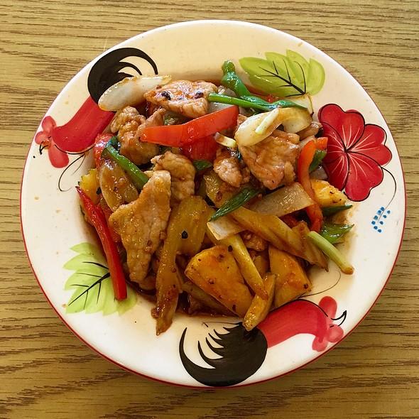 Sweet & Sour Chicken @ Thai One On