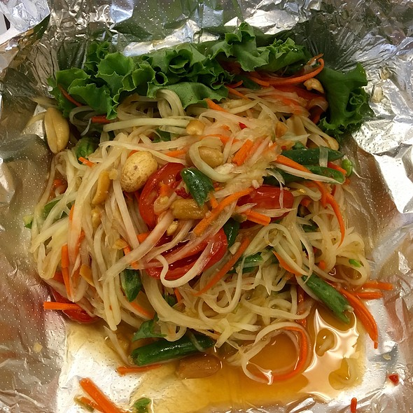 Papaya Salad @ Thai One On