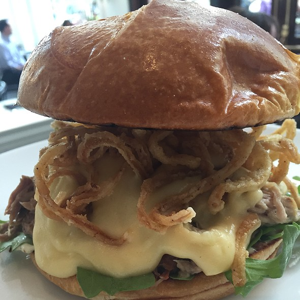 Pulled Pork Cheddar Cheese Sauce And Herb Aioli @ Atwood