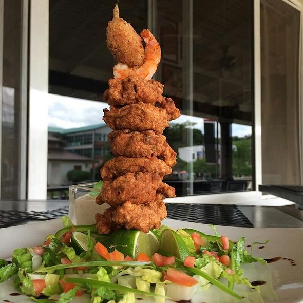 Jalapeno Shrimp Fritters