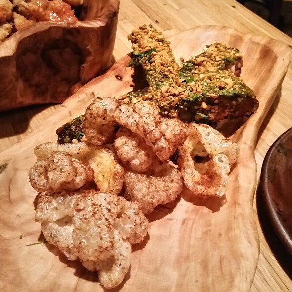 Ribs With Pork Rinds @ Husk Restaurant