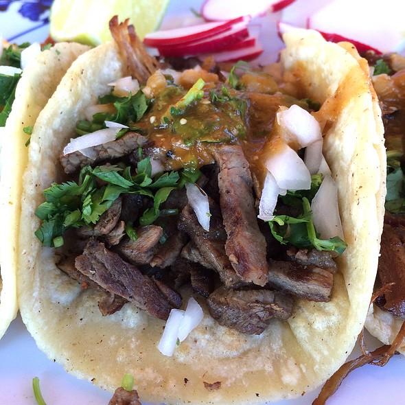 Taco De Carne Asada @ Taqueria El Zamorano