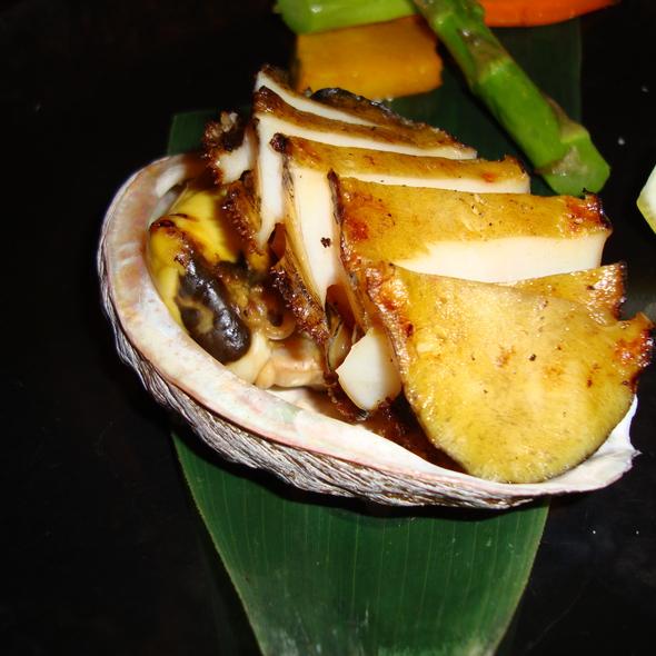 Grilled Abalone @ Rokkaku