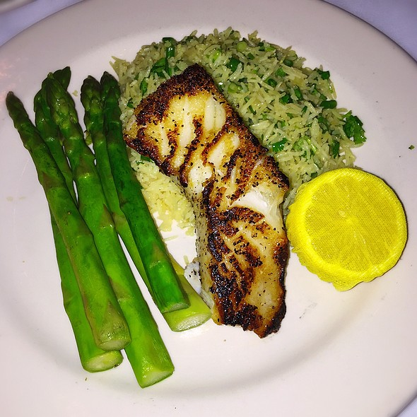 Chilean Sea Bass - Cool River Cafe - Dallas, Irving, TX
