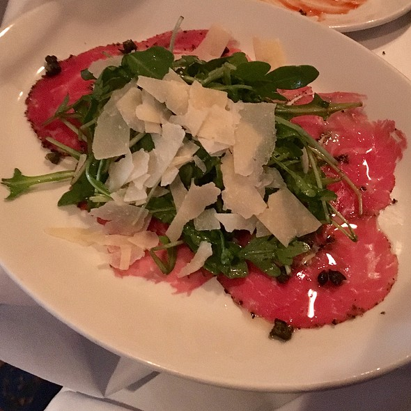 Beef Carpaccio @ Chart House