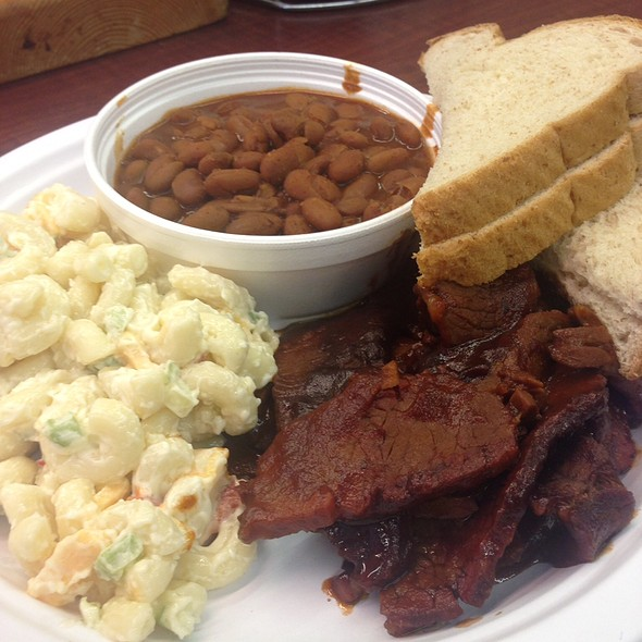 Brisket Plate @ Ye Ole Butcher Shop