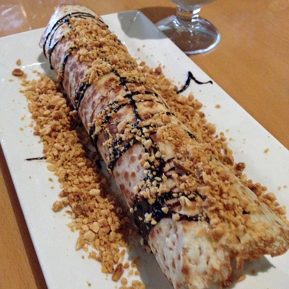 Coconut Ice Cream Crepe @ 45 Mint Vietnamese Bistro