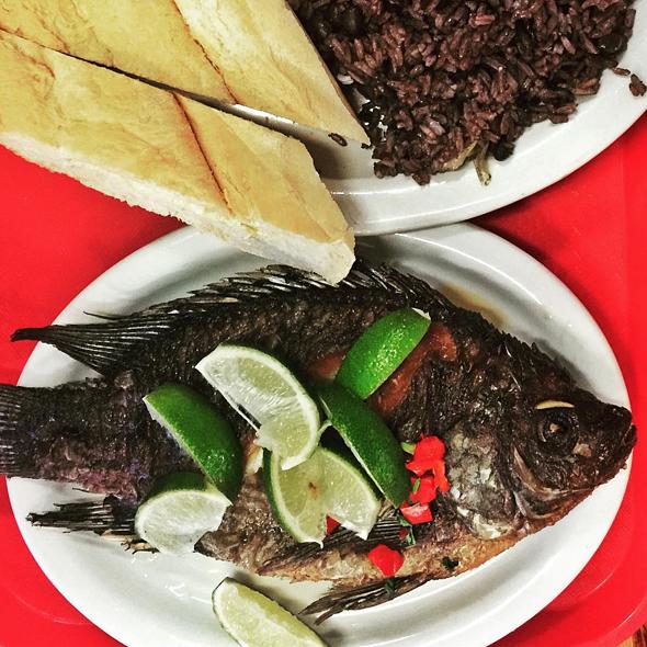 Fried Tilapia @ Liborio's Latin Cafe & Catering