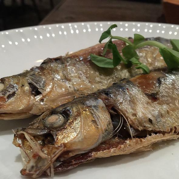 Flash-fried sardines @ The Mill