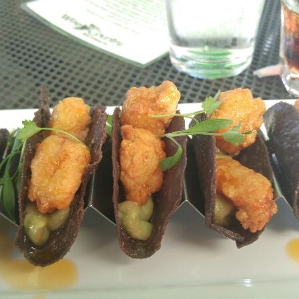 Crispy Shrimp Tacos - Wine Country Bistro, Shreveport, LA